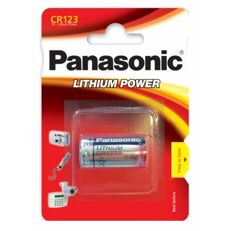 Panasonic CR123AL/1BP - блистер 1 шт.