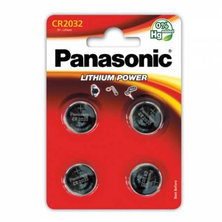 Panasonic CR-2032EL/4B - блистер 4 шт.