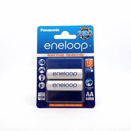 Panasonic Eneloop BK-3MCCE, AA, 2000 mAh, Ni-MH, блистер 2 шт