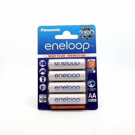 Panasonic Eneloop BK-3MCCE, AA, 2000 mAh, Ni-MH, блистер 4 шт